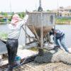 Применение арматуры при заливке бетона