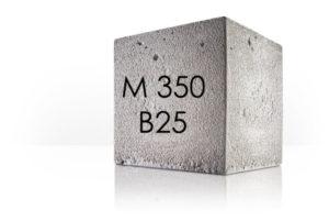 Бетон М350 B25 с доставкой в Домодедово МО